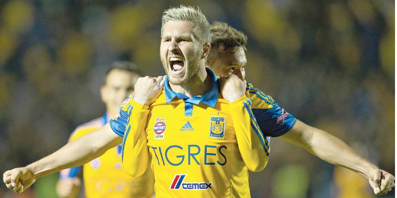 Gignac a un gol de otra marca con Tigres