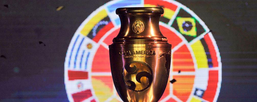 Conmebol presenta el trofeo para la Copa América Centenario