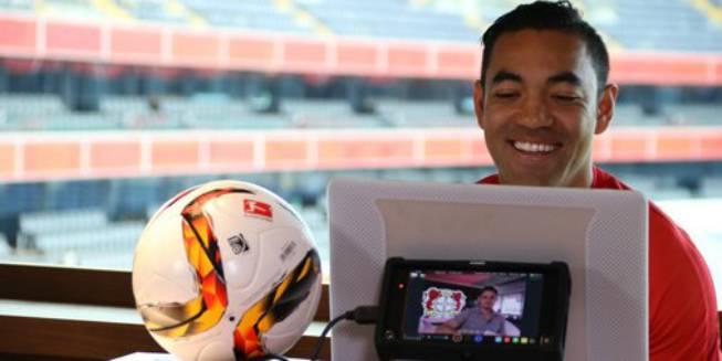 Chicharito y Fabián tuvieron un videochat para la Bundesliga