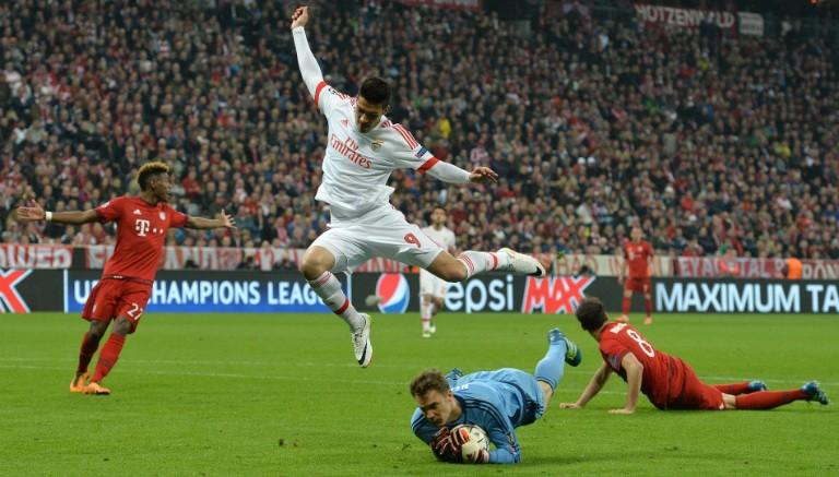 Gana el Bayern Munich al Benfica con lo justo
