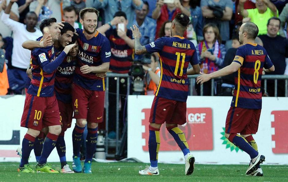 Sin hazaña para el Madrid, Barcelona se corona campeón de Liga