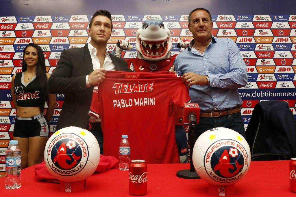 Pablo Marini es el nuevo técnico de los Tiburones Rojos del Veracruz