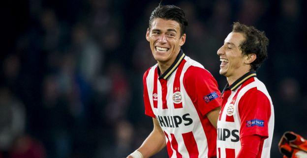 Andrés Guardado y Héctor Moreno en el 'Dream Team' de Holanda