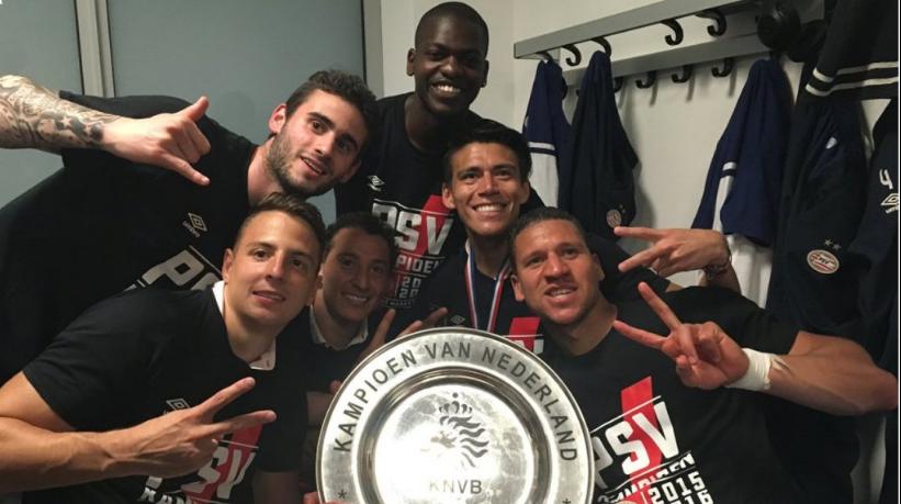 Logra PSV Eindhoven bicampeonato en el último suspiro