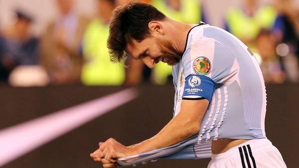 Lionel Messi: »Se acabó la selección para mí»