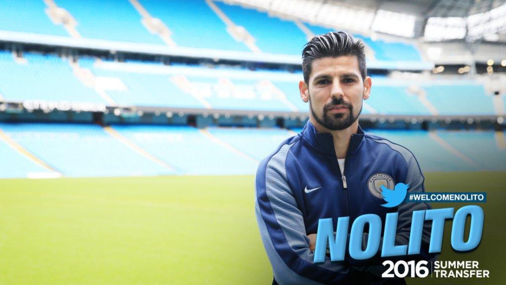 Nolito ficha con el City de Guardiola