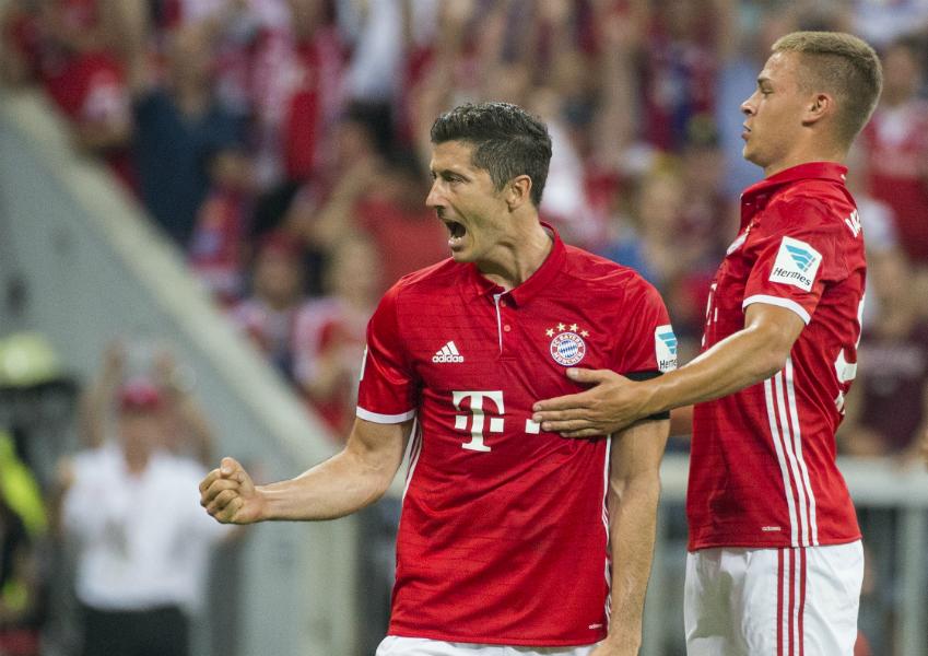 Checa el triplete de goles que el polaco Robert Lewandowski le recetó a Werder Bremen