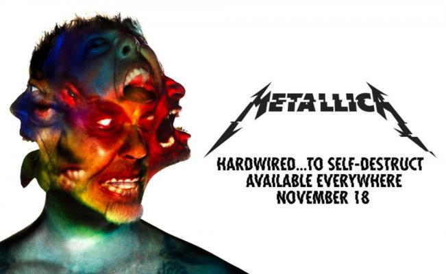 """Escucha lo nuevo de Metallica """"Hardwired"""""""