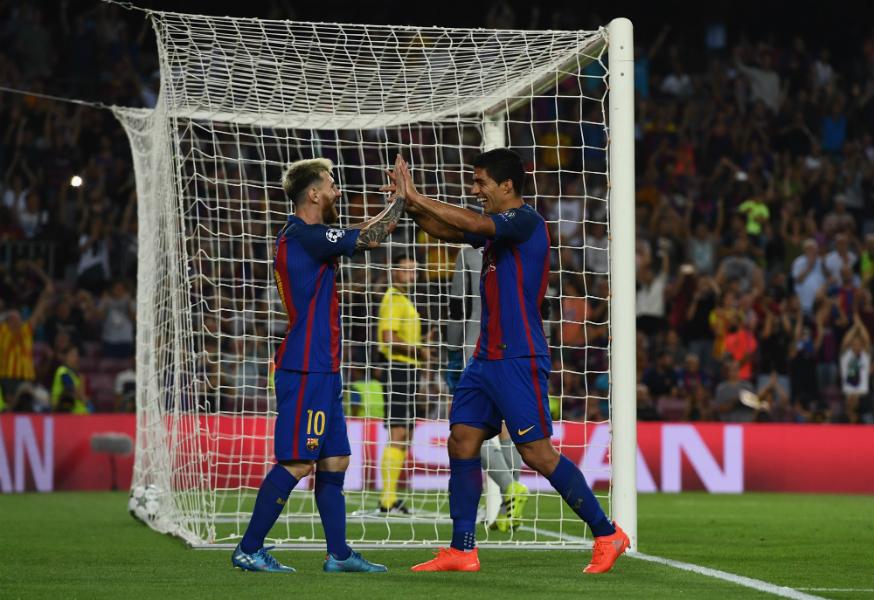 Barcelona se desquita con el Celtic
