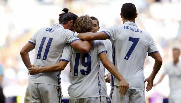CR7 regresa,  Real Madrid golea y empata récord de triunfos seguidos