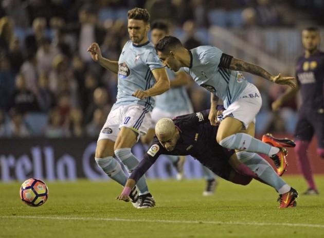 Mazazo al Barça, recibe cuatro goles en su visita al Celta