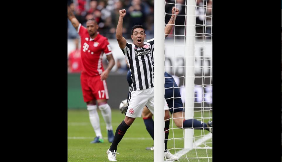 De pechito y al Bayern Múnich… Marco Fabián volvió a anotar en la Bundesliga (video)