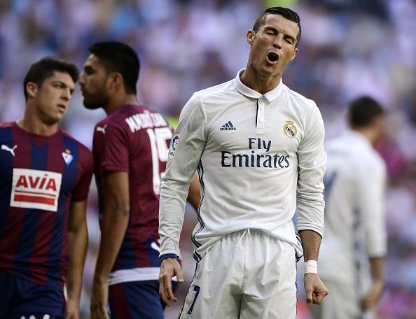 Ronaldo «choca» con sus aficionados