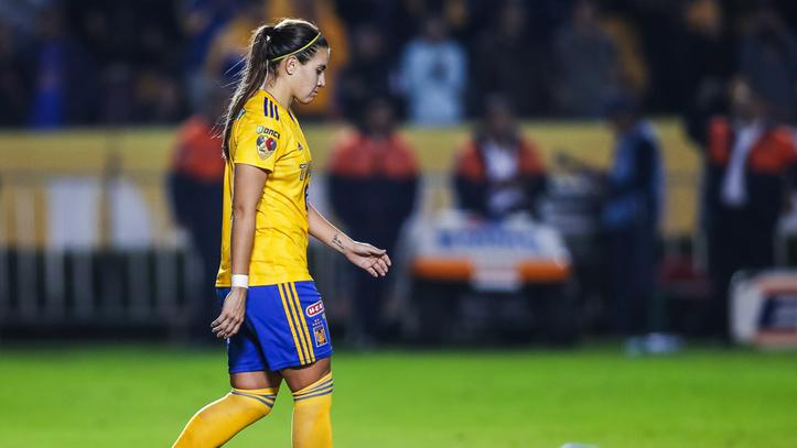 Nayeli Rangel será baja por lesión para Tigres Femenil durante ocho meses