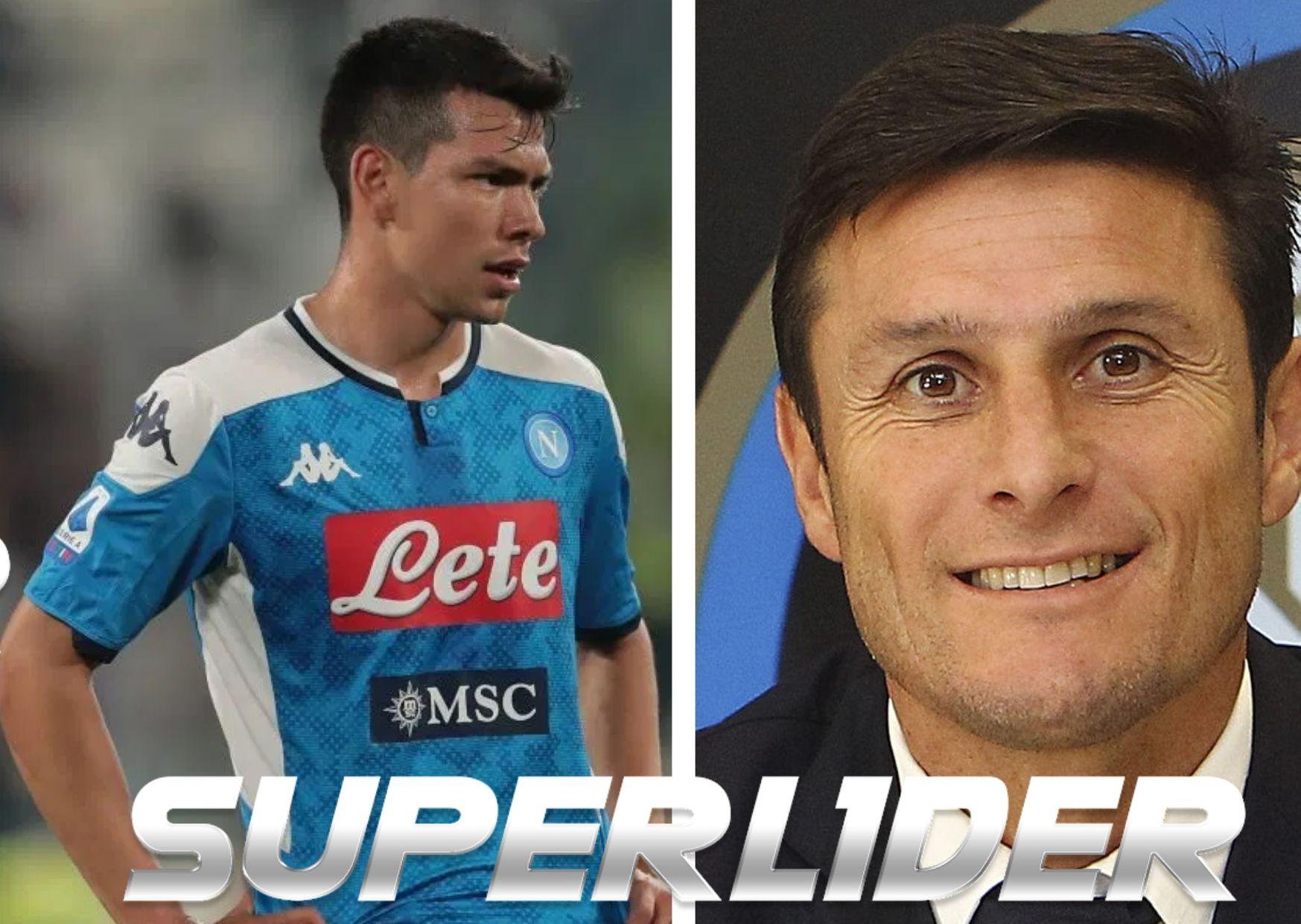 Javier Zanetti pide paciencia para Hirving Lozano