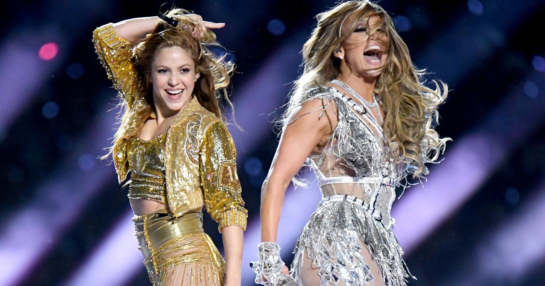 Se filtra video de Jennifer López enseñando a Shakira como hacer el sensual baile que hicieron en el Super Bowl LIV (VIDEO)