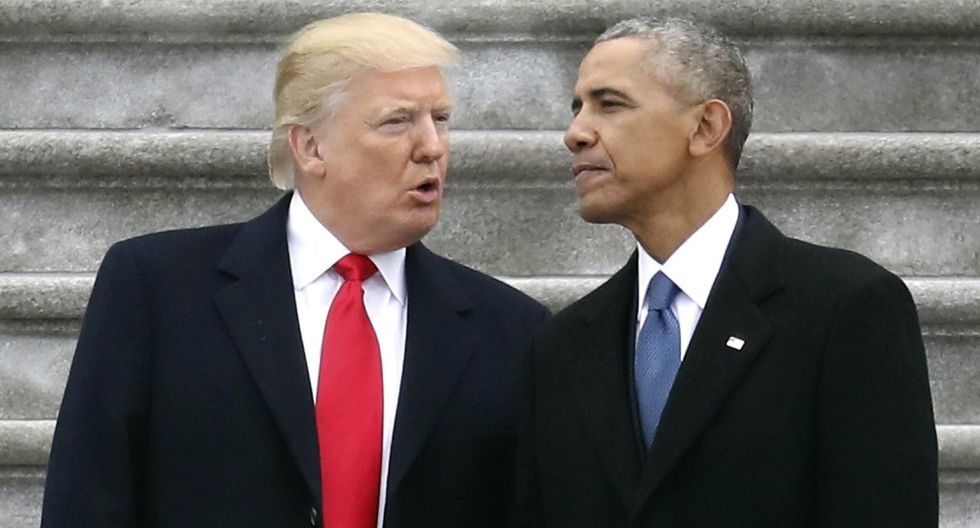 Donald Trump respondió al 'Obamagate'
