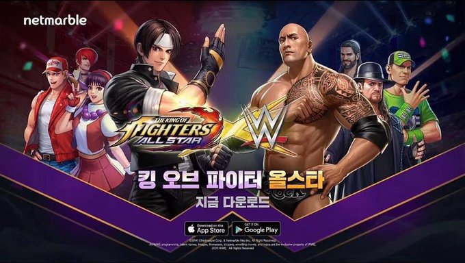 WWE y King of Figthers harán históricocrossover