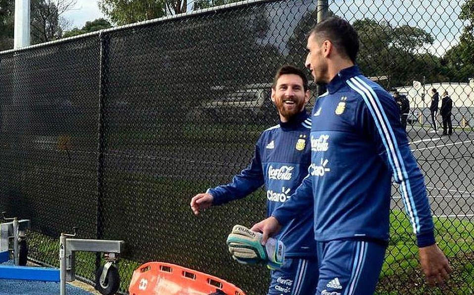 Nahuel Guzmán 'acompañaría' a Messi en hipotético regreso al Newell's