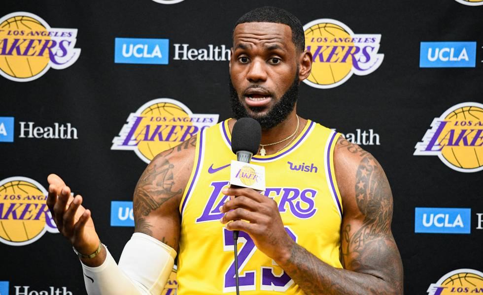 'Los blancos nunca entenderán lo que es ser negro': LeBron James