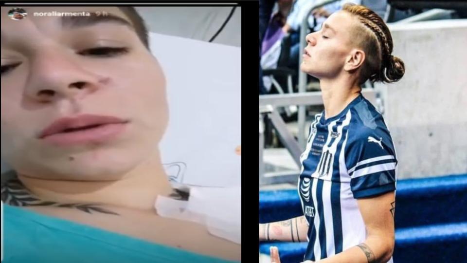 El emotivo mensaje de Norali Armenta en hospital (VIDEO)