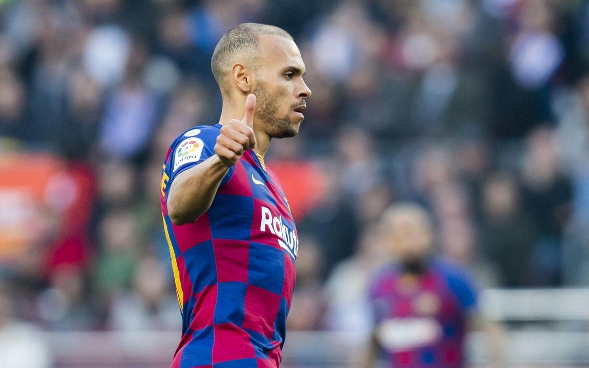 Martin Braithwaite saldría del FC Barcelona y llegaría a la Premier League