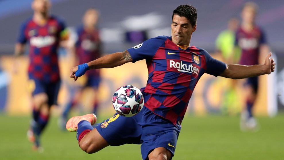 Luis Suárez molesto por cómo se está dando su salida del FC Barcelona