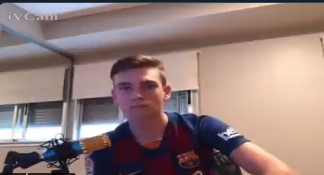 Aficionado del FC Barcelona se vuelve viral tras insultar a Lionel Messi por su inminente salida del cuadro ''blaugrana'' (VIDEO)