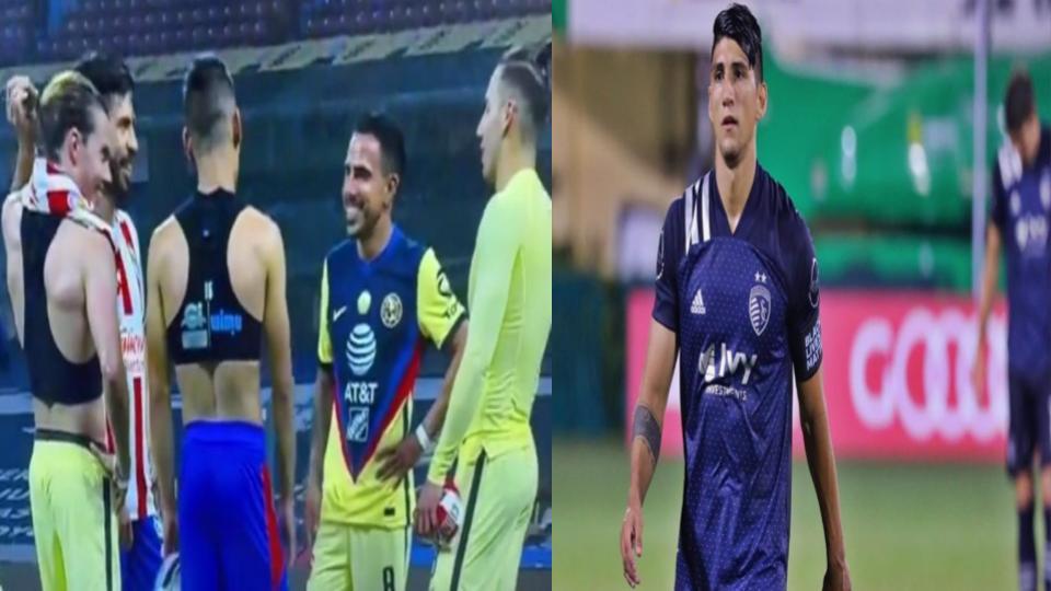 Alan Pulido habló sobre polémica actitud de Oribe Peralta y Uriel Antuna al terminar Clásico Nacional (VIDEO)