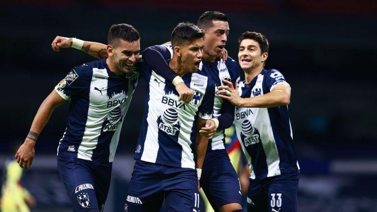 La alineación con la que Rayados jugaría la final de ida de Copa MX ante Xolos