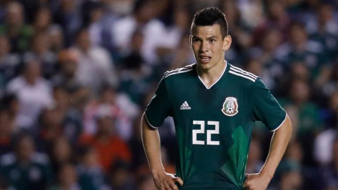 'Chuky' Lozano no jugaría la Fecha FIFA con la Selección Mexicana