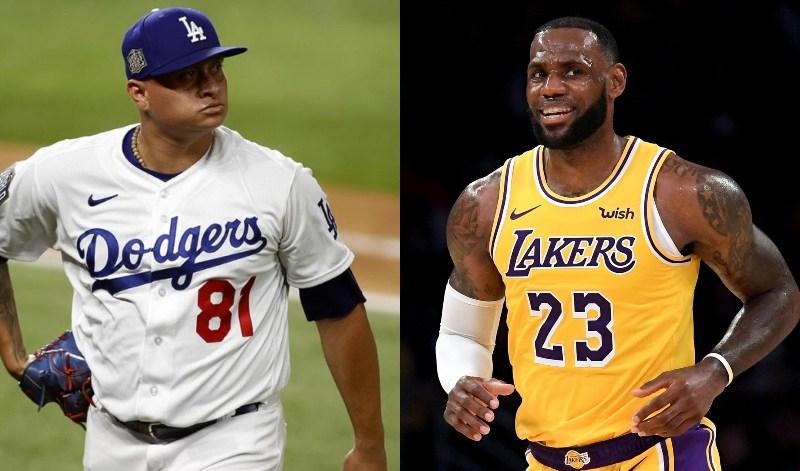 MLB: LeBron James aplaudió atrapada de Víctor González