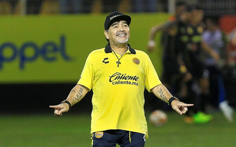 El emotivo mensaje de los Dorados de Sinaloa a Diego Armando Maradona tras su fallecimiento