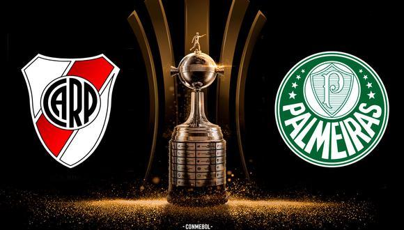 Copa Libertadores: Ver en vivo el River-Palmeiras