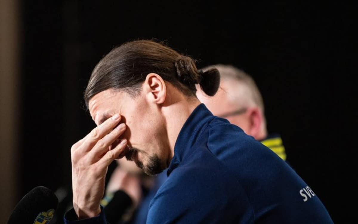 Zlatan Ibrahimovic rompió en llanto al recordar a sus hijos en conferencia de prensa (VIDEO)