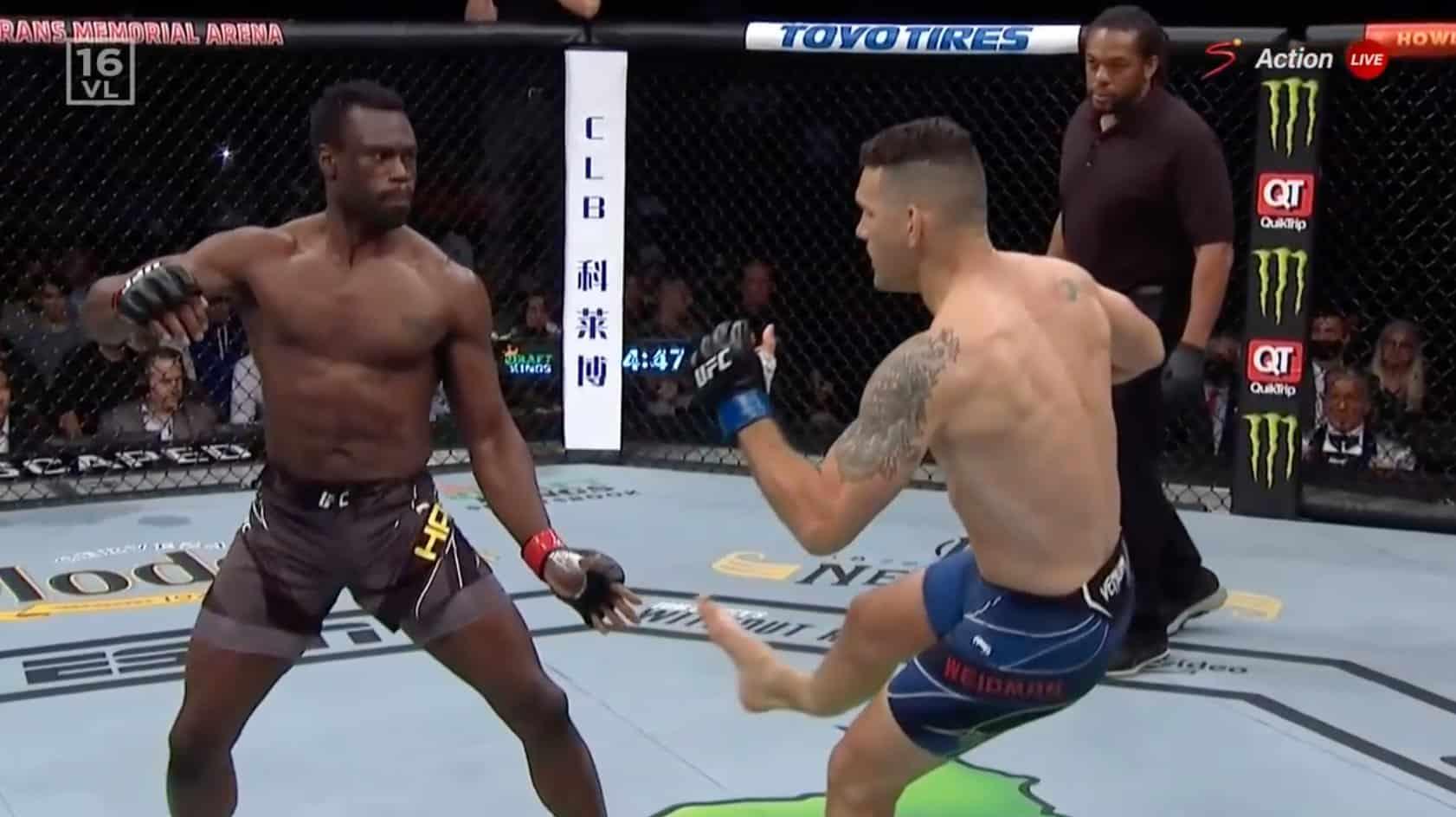 Video: Chris Weidman sufrió brutal lesion en UFC 261