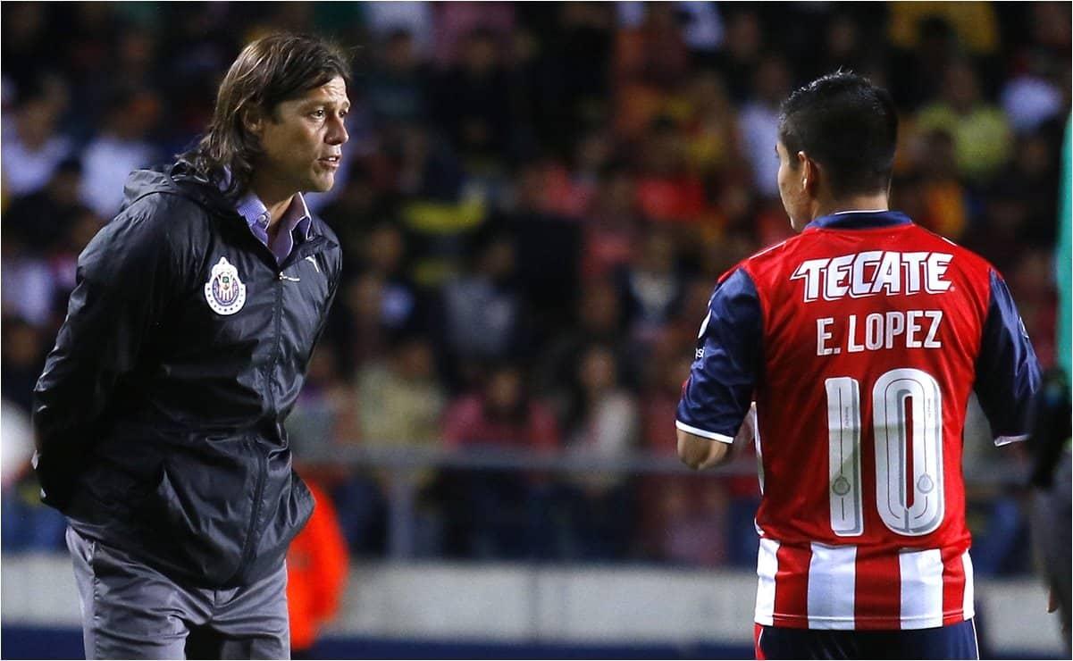 Agradece Matías Almeyda a Chivas por Eduardo López