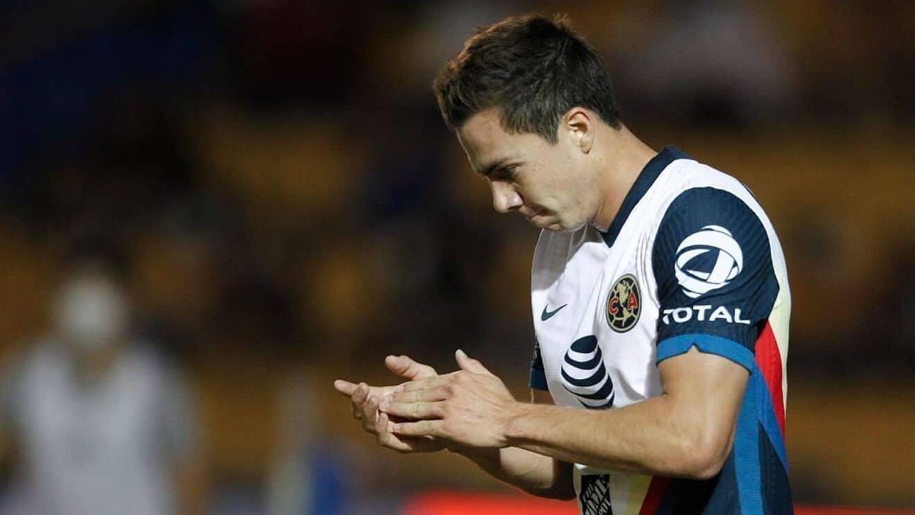 Sebastián Córdova, listo para reparecer en cuartos de final de vuelta con América