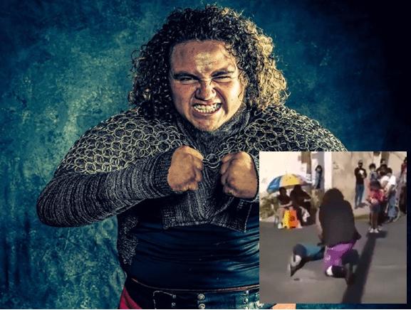 Detienen a luchador que azotó a niño contra el suelo