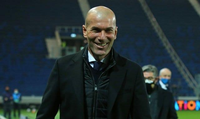 Zinedine Zidane saldría del Real Madrid al terminar la temporada