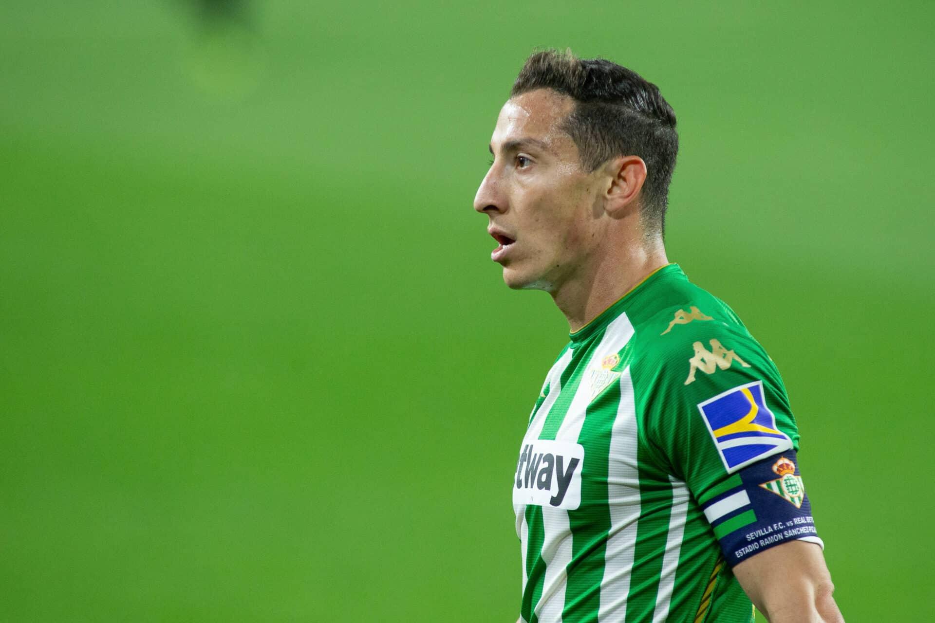 Adelanta Andrés Guardado que podría estar en su última temporada con el Real Betis