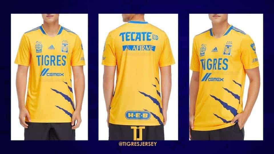 El nuevo jersey de Tigres de cara a la temporada 2021-22