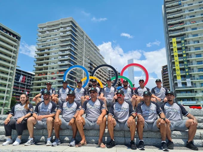 JJOO: Causa polémica foto de Selección Mexicana de Beisbol