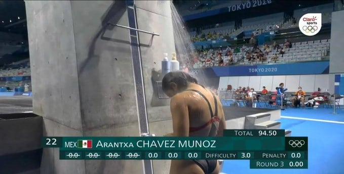 Arantxa Chávez y su caótico clavado de cero puntos