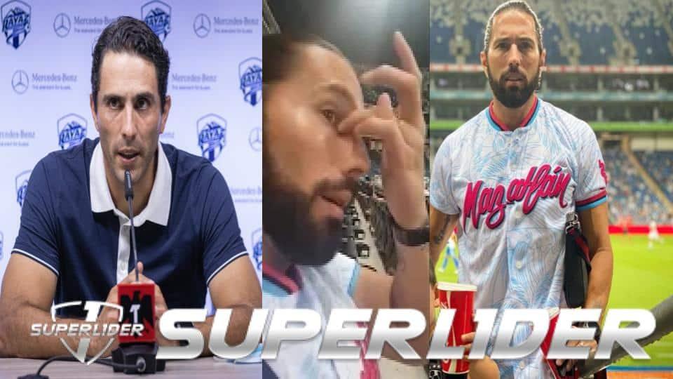 Poncho de Nigris fue a apoyar a su hermano Aldo en su debut como entrenador, en plena entrevista le meten gol al equipo de Aldo (VIDEO)