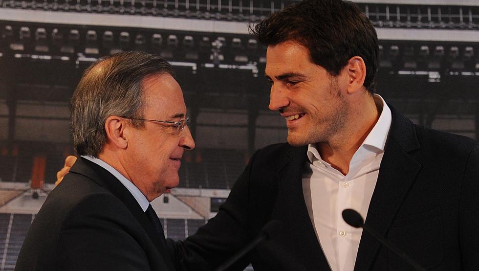 Florentino Pérez llamó 'perrito faldero' a Iker Casillas