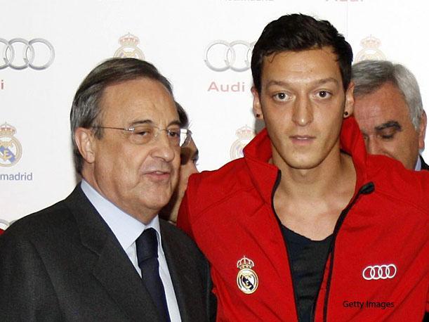 Filtran audio de Florentino Pérez, ahora hablando de Mesut Özil