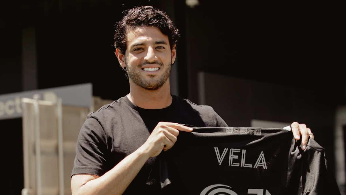 Carlos Vela reveló que es su último año en el LAFC