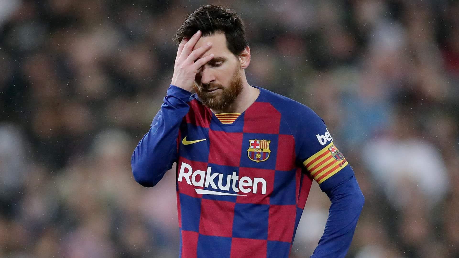 Messi estaría en profundo estado de tristeza