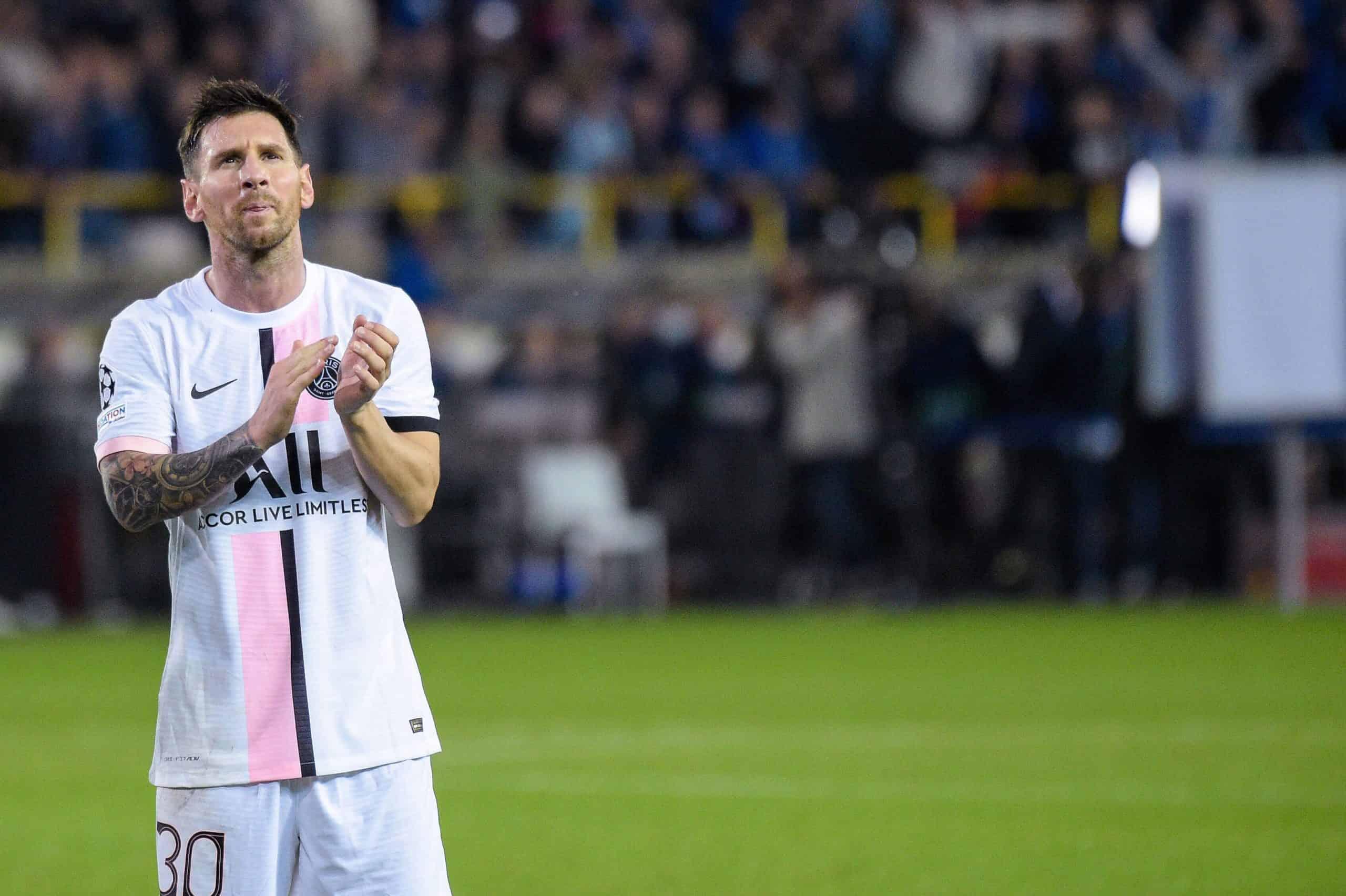 Revela L'Equipe el salario millonario de Lionel Messi con el PSG